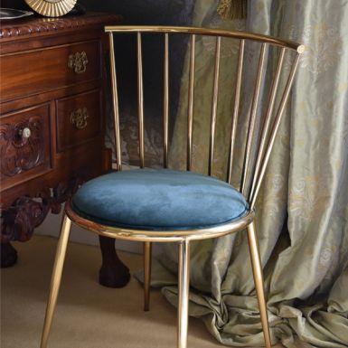 Blue Lexi Dining Chair