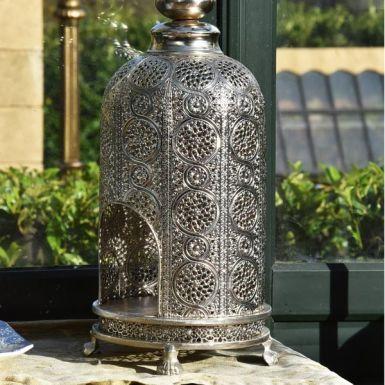 Large Silver Lantern