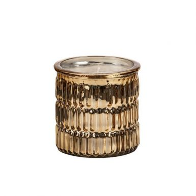 Fizz & Bubbles Scented Candle in Gold
