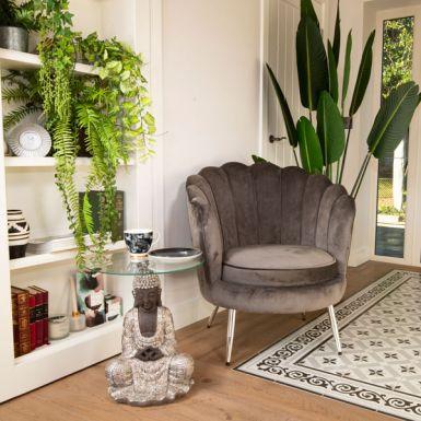 Darcy Velvet Shell Chair