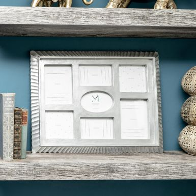 Silver Collage Photo Frame